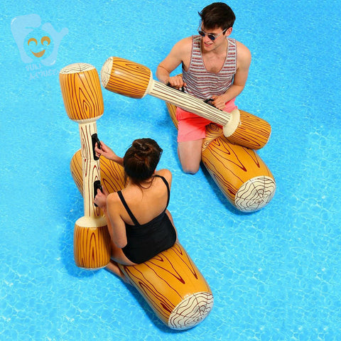 INFLATABLE RAFT FOR POOL GAME