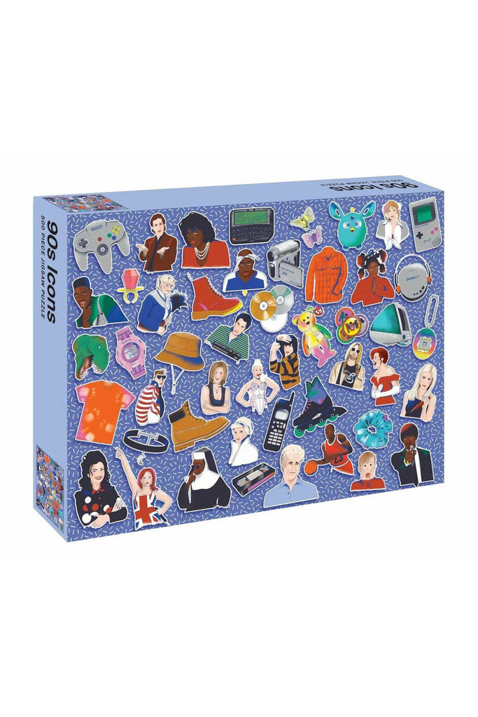 90s Icons: 500 piece jigsaw puzzle
