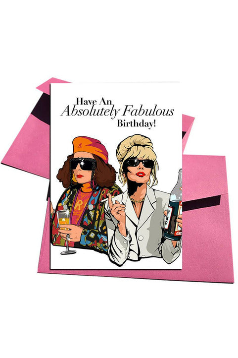 Have an Absolutely Fabulous Birthday! Card