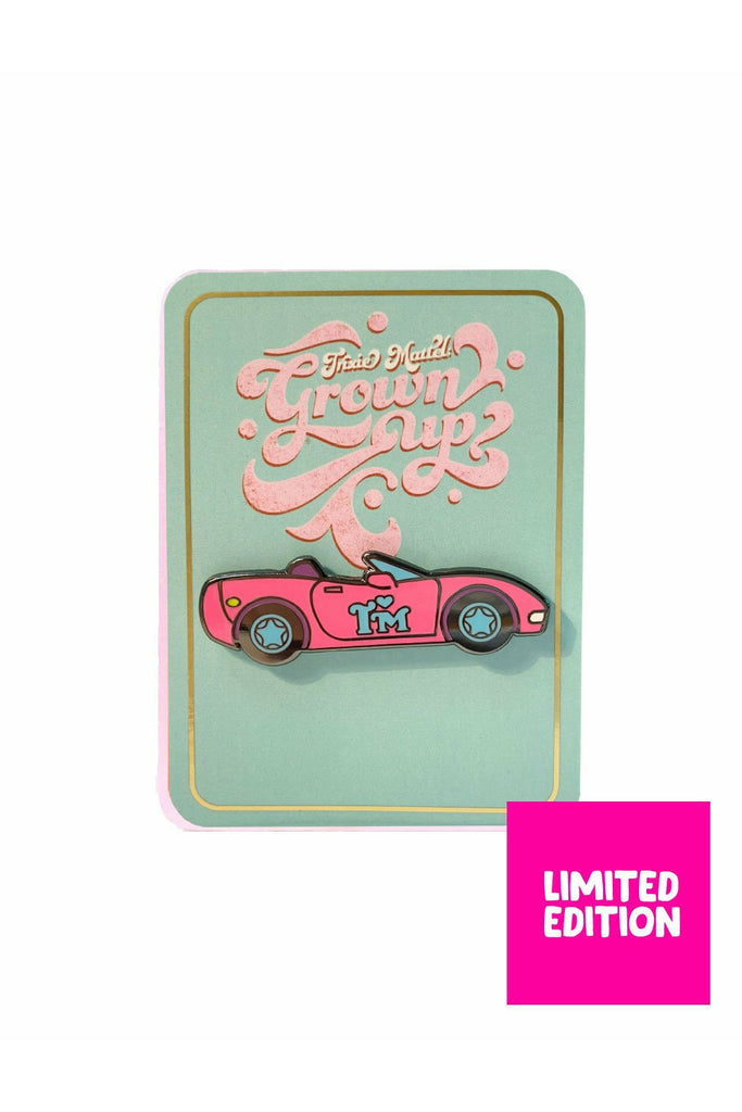 Trixie Corvette Pin