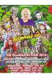 Dragfest 2018 Signed Tour Poster