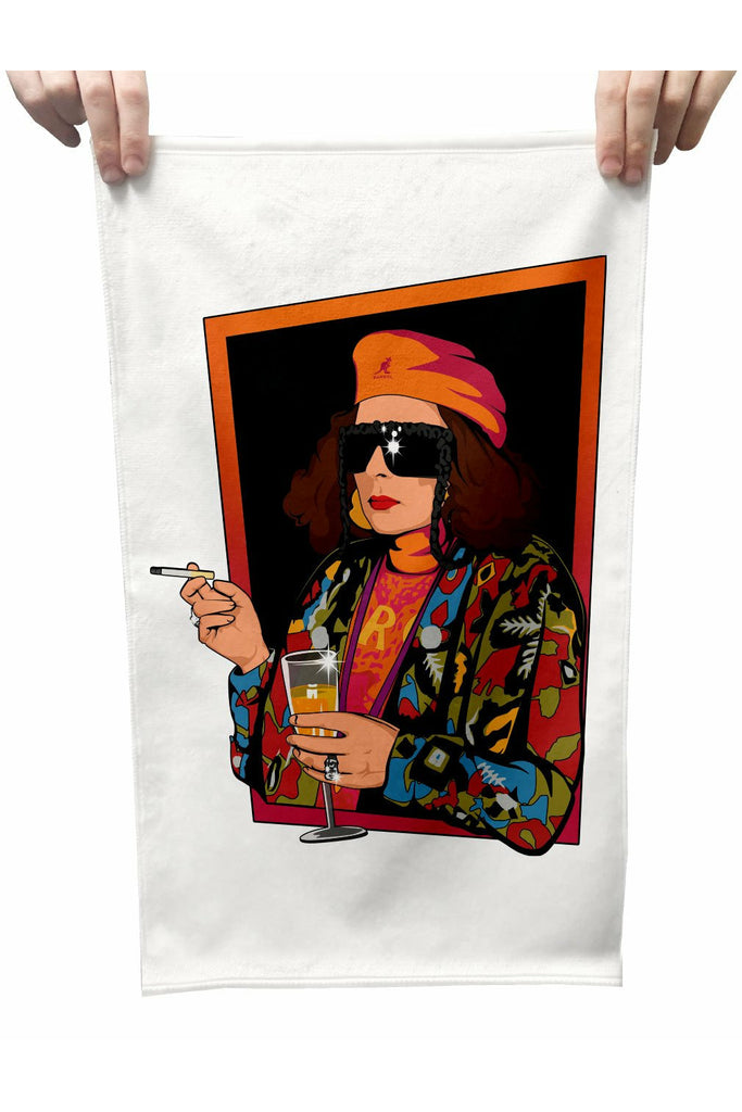 Edina Monsoon Plush Tea Towel