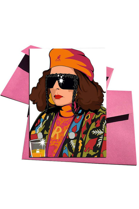 Absolutely Fabulous Eddie Card