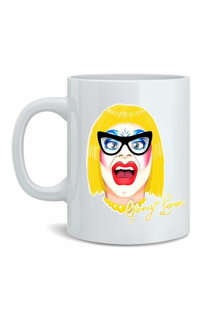 Ginny Lemon Face Mug