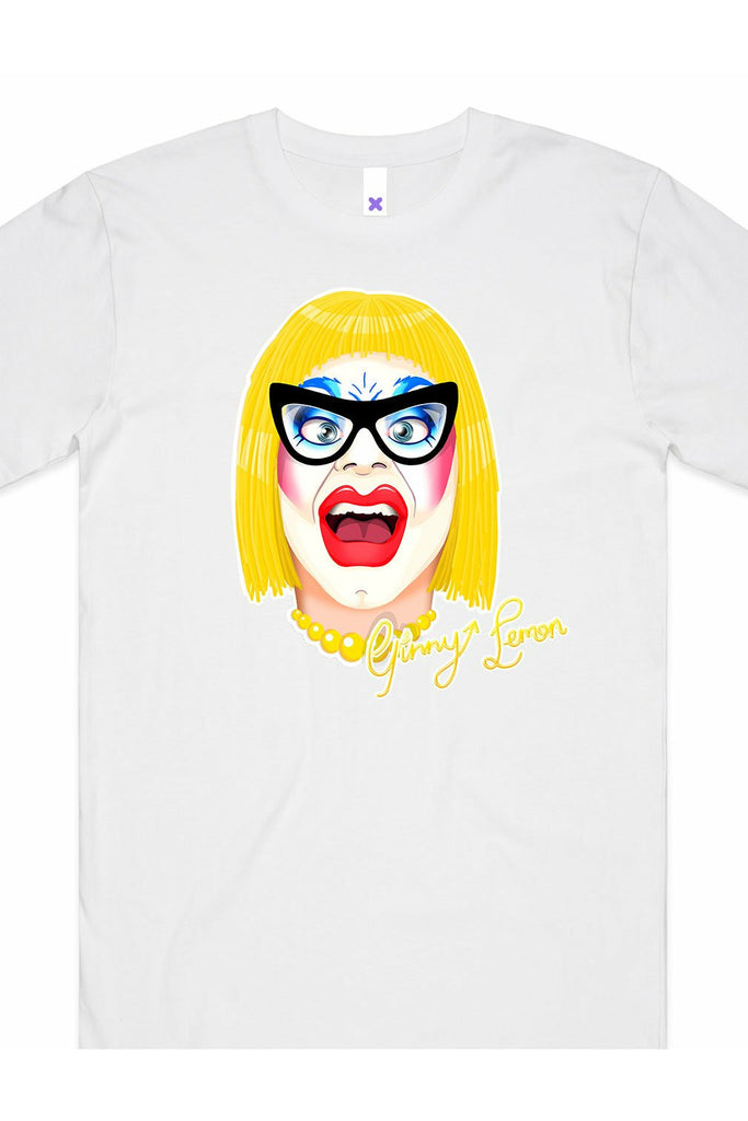 Ginny Lemon Face White T-Shirt