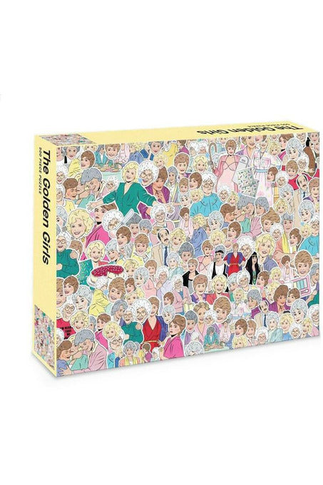 GOLDEN GIRLS : 500 PIECE JIGSAW PUZZLE