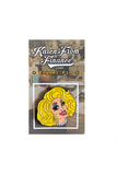 Karen From Finance Smile Pin