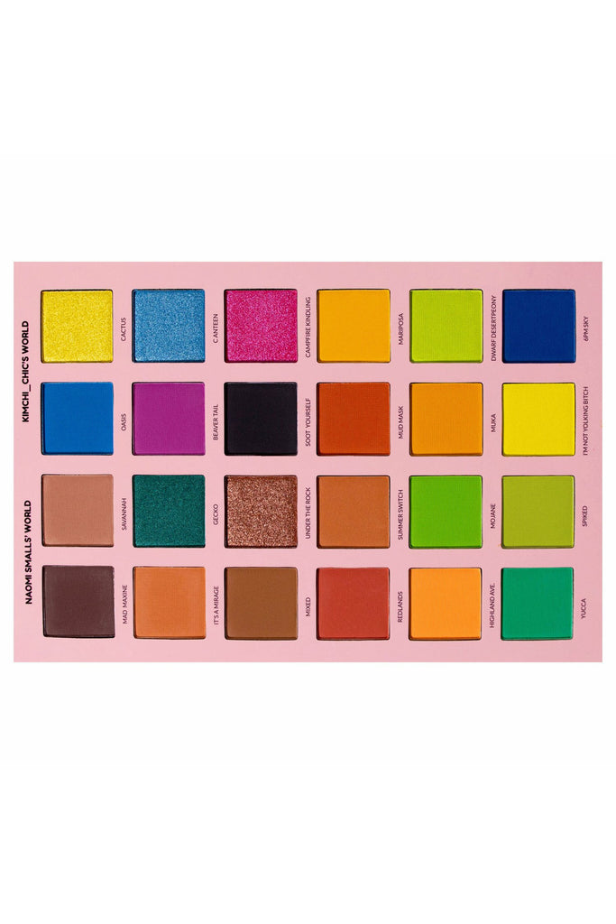 Kim Chi & Naomi Mad Maxine, Soot Yourself Palette - Vegan