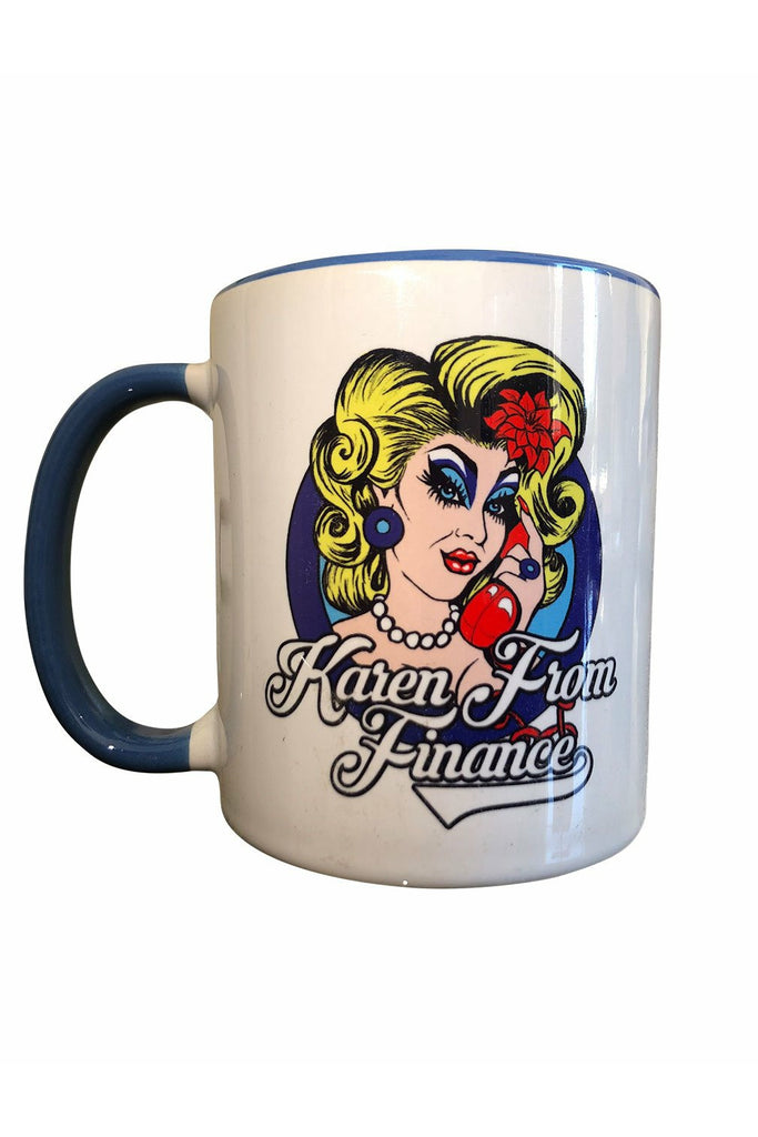 Karen From Finance Mug