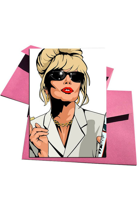 Absolutely Fabulous Patsy Card
