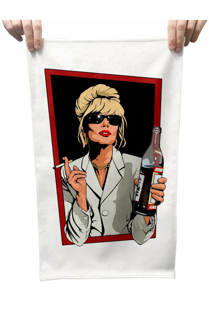 Patsy Stone Plush Tea Towel