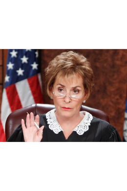 Judge Judy Mask