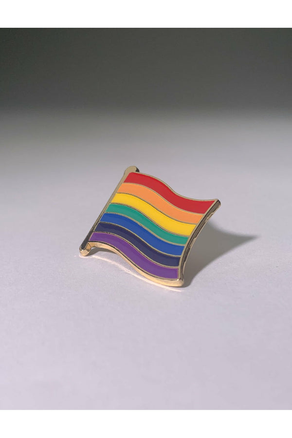 Wavy Pride Flag Pin