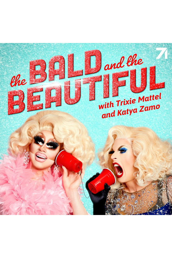 Trixie and Katya The Bald and the Beautiful Faces T-Shirt