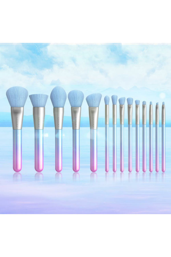 Breathing Crystal 14pce Brush Set