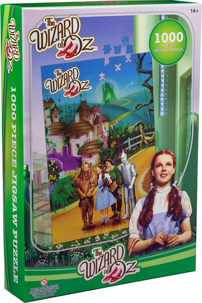 The Wizard of Oz - Yellow Brick Road Jigsaw Puzzle (1000 Pieces)