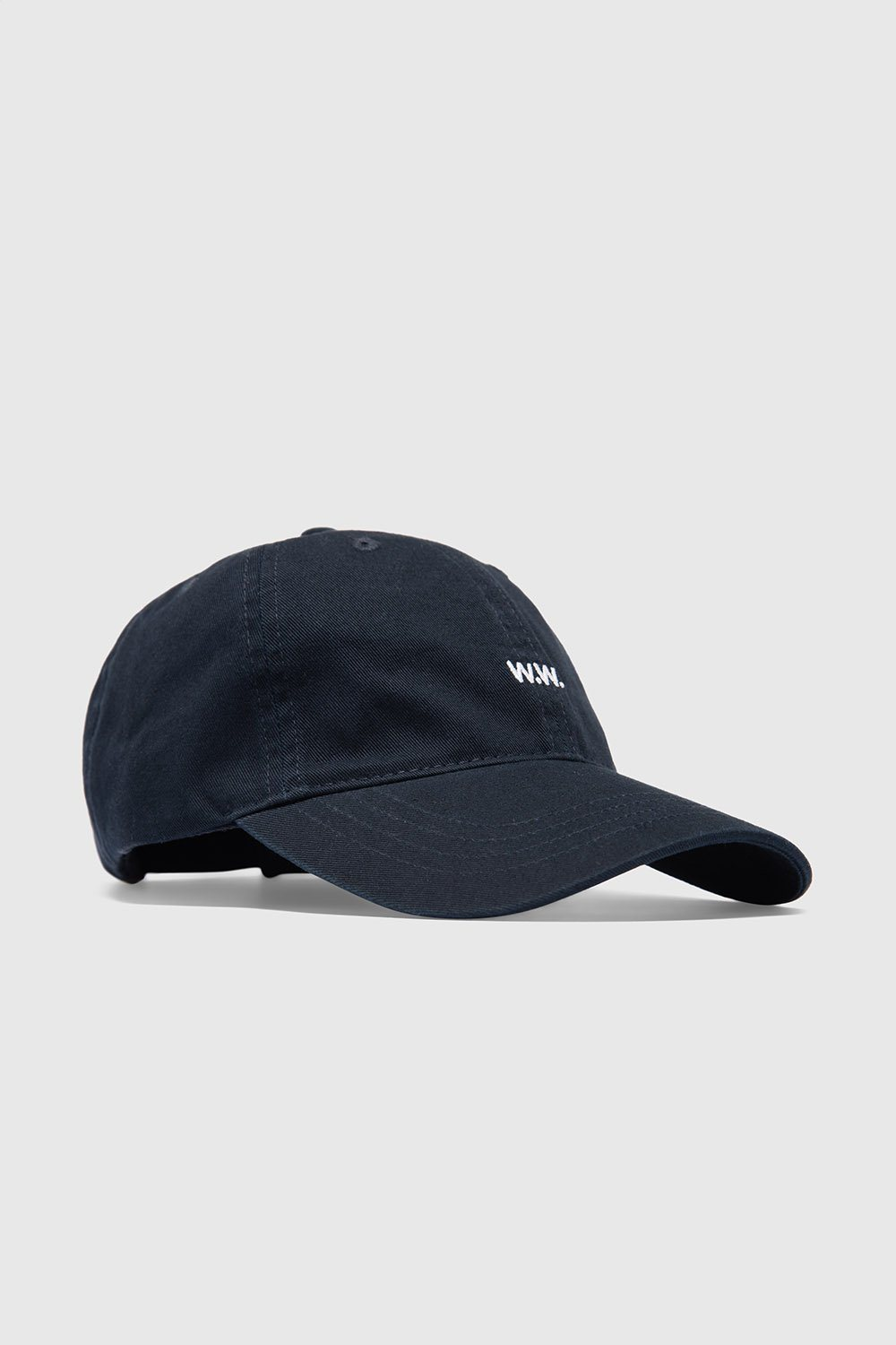 Wood Wood - Low Profile Cap - navy Caps Wood Wood