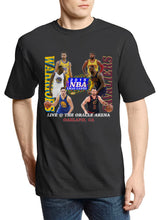 "Load image into Gallery viewer, Warriors vs Cavaliers ""XMAS Games"" Retro Tee"