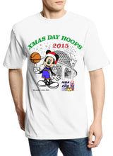 "Load image into Gallery viewer, Christmas Day Hoops ""Mickey Club"" Parody Tee"