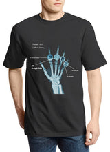 "Load image into Gallery viewer, Lebron Legacy ""X-RAY RINGS"" Tee (Black)"