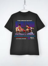 "Load image into Gallery viewer, Vintage ""Manny Pacquiao vs Oscar Del La Hoya"" Retro Tee (Black)"
