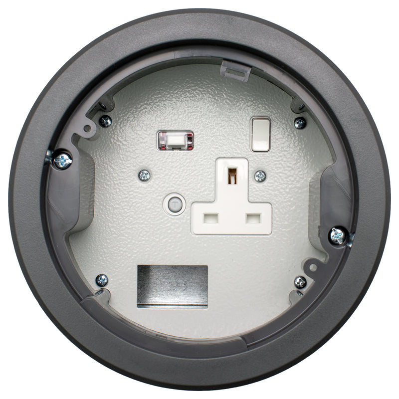 152mm Standard RCD Power Grommet with 1 Data Space