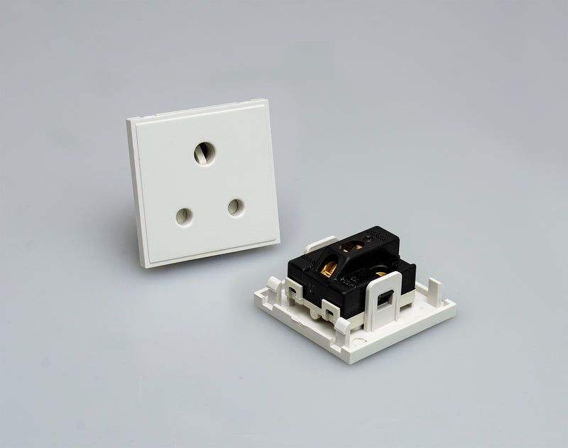 MM038WH - 5A Socket Module