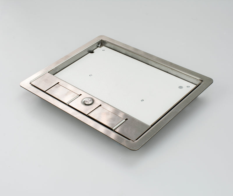 SSL12R296 - Stainless Steel Frame & Lid (12mm Recess)