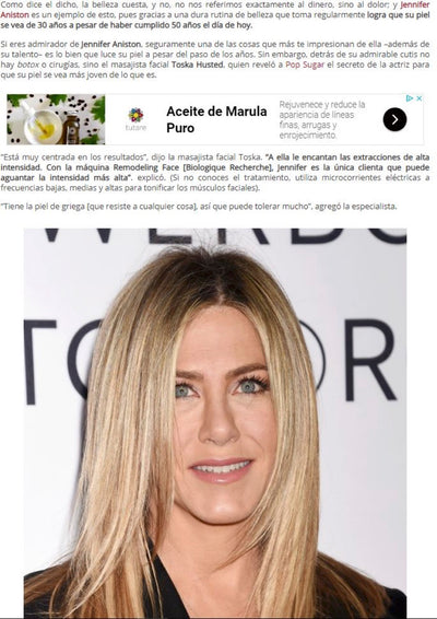Jennifer Aniston - Lotion P50 PIGM400