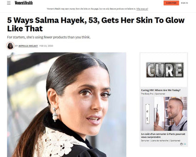 Women's Health - Salma Hayek