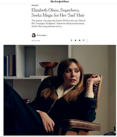 The New York Times - Elizabeth Olsen