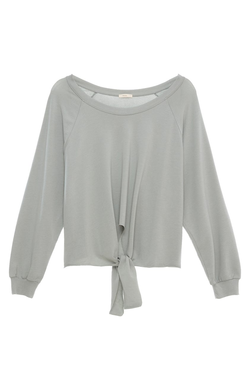 BLAIR KNOTTED PULLOVER