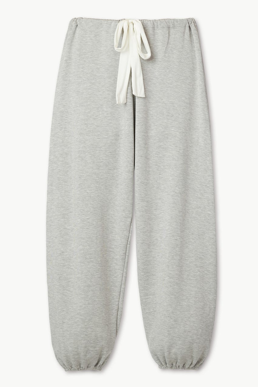 WINTER HEATHER CROPPED PANT