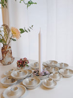 Load image into Gallery viewer, Blomma Tapered Candle Holders - 4 dots