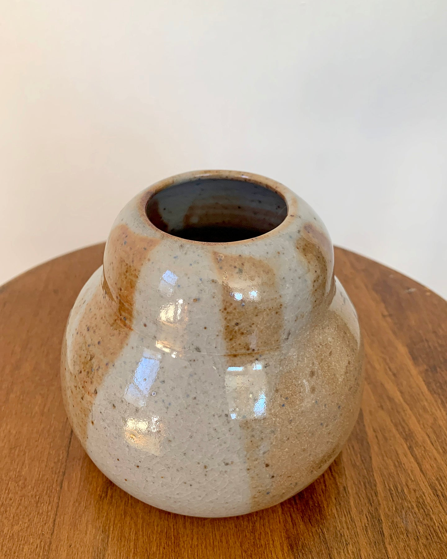Cocoa Curves Vase No. 1