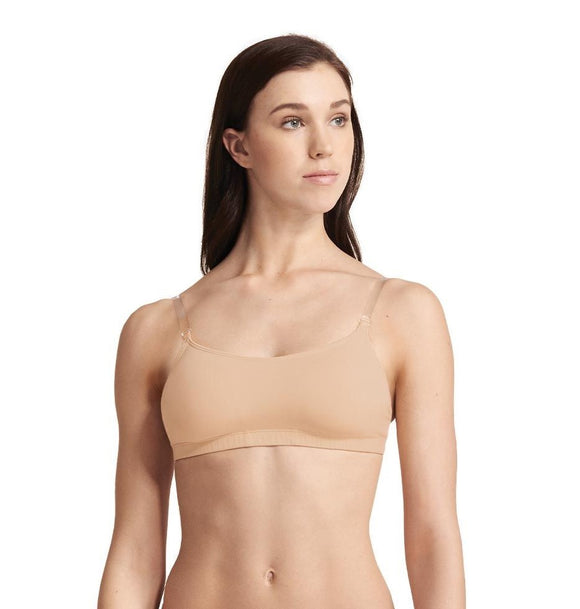 Capezio Adjustable Bra w/Clear Straps