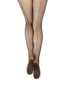 Capezio Professional Fishnet Tights WITH Seam