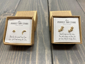 Perfect Tiny Earring Studs by Natural Life