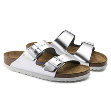 Load image into Gallery viewer, Arizona Silver Metallic Soft Footbed