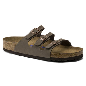Florida Mocha Birkibuc Soft FootBed