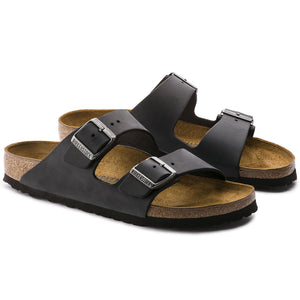 Arizona Black Oiled Leather Soft Footbed