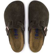 Load image into Gallery viewer, Boston Mocha Suede Soft Footbed