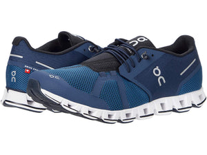 ON RUNNING CLOUD  MENS MIDNIGHT / OCEAN