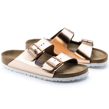 Load image into Gallery viewer, Arizona Copper Metallic Soft Footbed