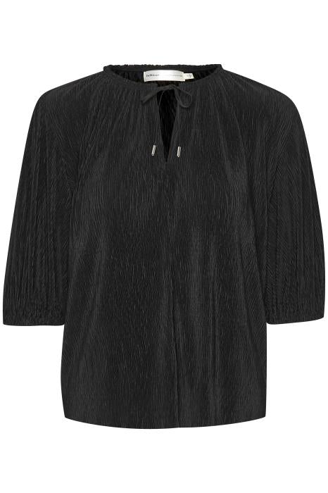 Karlo Blouse in Black