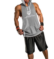 *Back In Stock* Men's MM Stringer Racerback Hoodie - Grey