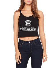 International Pro Elite (IPE) Women's Crop Top - Black