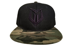 *NEW - 'Muscle Motivation' Snapback Hat- Camo