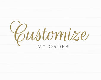 *NEW - Customize Any Item With Your Initials
