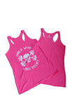 Women's Girls Who Love To Lift Racerback Tank Top